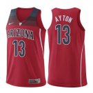 Men's Arizona Wildcats 13# DeAndre Ayton Red Basketball Jersey NCAA College version