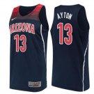 Men's Arizona Wildcats 13# DeAndre Ayton Black Basketball Jersey NCAA College version