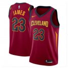 Men's Cleveland Cavaliers 23# LeBron James Basketball Jersey Red