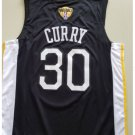 MENS Golden State Warriors 30# Stephen Curry Black Jersey