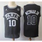 Men's Paris #10 Neymarjr Third 2018-19 Noir Basketball Jersey Black