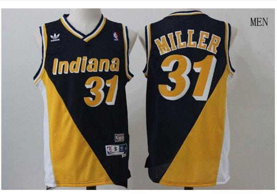 Indiana Peacers Reggie Miller #31 man's Basketball jersey sale Nba shirt
