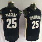 Mens Memphis Grizzlies 25 Chandler Parsons Basketball Stitched Jersey Blue