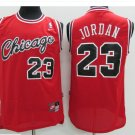 Mens Chicago Bulls #23 Michael Jordan Basketball Jersey Red Throwback