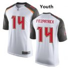 Youth Ryan Fitzpatrick Tampa Bay Buccaneers Jersey white
