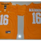 Youth Tennessee Volunteers 16 Peyton Manning College Jersey orange