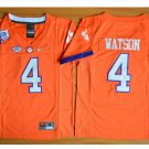 Youth Clemson Tigers 4 Deshaun Watson College Football Jersey orange
