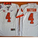 Youth Clemson Tigers 4 Deshaun Watson College Football Jersey white