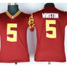 Youth Florida State Seminoles 5 Jameis Winston college Jersey red