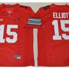 Youth Ohio State Buckeys #15 Ezekiel Elliott College Football Jersey red
