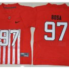 Youth Ohio State Buckeyes #97 Joey Bosa College Football jersey red