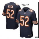 Youth Kid Chicago Bears 52 Khalil Mack jersey navy blue