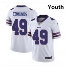 Youth Bills #34 Tremaine Edmunds jersey white