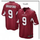 Youth Cardinals #8 Sam Bradford game jersey red