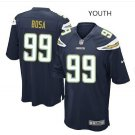 Youth kid Charges #99 Joey Bosa game jersey navy blue