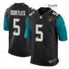 Youth kid Jacksonville Jaguars #5 Blake Bortles jersey black