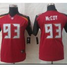 Youth Tampa Bay Buccaneers #93 Gerald McCoy game jersey red
