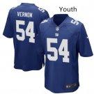 Youth boys New York Giants #54 Olivier Vernon Jersey blue
