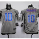 Youth New York Giants #10 Eli Manning Jersey grey