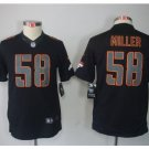 Youth Denver Broncos #58 Von Miller stitched jersey black