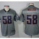 Youth Danver Broncos #58 Von Miller stitched jersey