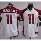 Youth kids Cardinals #11 Larry Fitzgerald Football jersey white