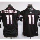 Youth kids Cardinals #11 Larry Fitzgerald Football jersey black