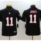 Youth kids Falcons #11 Julio Jones stitched football jersey black