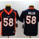Youth Denver Broncos #58 Von Miller stitched jersey