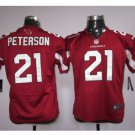 Youth Cardinals #21 Patrick Peterson Football jersey kids red
