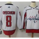 Men's Washiontal Capitals 8 Alex Ovechkin Hockey Jersey white