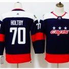 Youth Washiontal Capitals 70 Braden Holtby Hockey Jersey blue