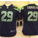 Youth Seattle Seahawks #29 Earl Thomas Football jersey navy