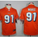 Youth Cameron Wake #91 Miami Dolphins Jersey Stitched