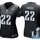 Women's Philadelphia Eagles #22 sidney Jones super bowl jersey black