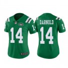 Women's Jets #14 Sam Darnold green jersey color rush jerseys