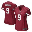 Women's Cardinals #9 Sam Bradford game jersey red