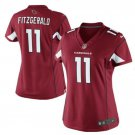 Women's Arizona Cardinals #11 Larry Fitzgerald Cardinal Limited Jersey