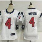 Women's Houston Texans #4 Deshaun Watson limited jersey navy white