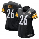 Women LeVeon Bell Pittsburge Steelers #26 game jersey black