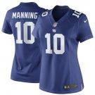 Women's New York Giants #10 Eli Manning Royal Blue Limited football Jersey