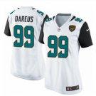 Women's Jacksonville Jaguars #99 Marcell Dareus game jersey white