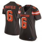 Women's Cleveland Browns 6 Baker Mayfield Jersey brown