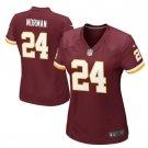 Women's Washington Redskins #24 Josh Norman game jersey red
