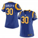 Women's Los Angels Rams #30 Todd Gurley Stitched Football jersey