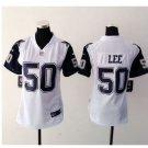 Women's Dallas Cowboys #50 Sean Lee game jersey white
