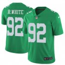 Men's Reggie White Eagles 92 color rush Limited jersey green