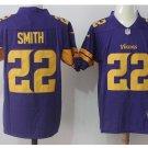 Men's Vikings #22 Harrison Smith color rush Limited jersey purple