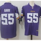 Men's Vikings #55 Anthony Barr color rush Limited jersey purple