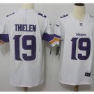 Men's Vikings #19 Adam Thielen color rush Limited jersey white